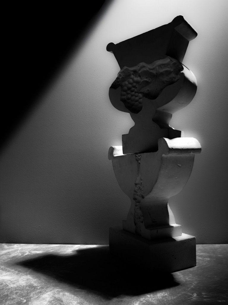 Kathy Dalwood urns  LOCHNER | CARMICHAEL Photographic collaboration