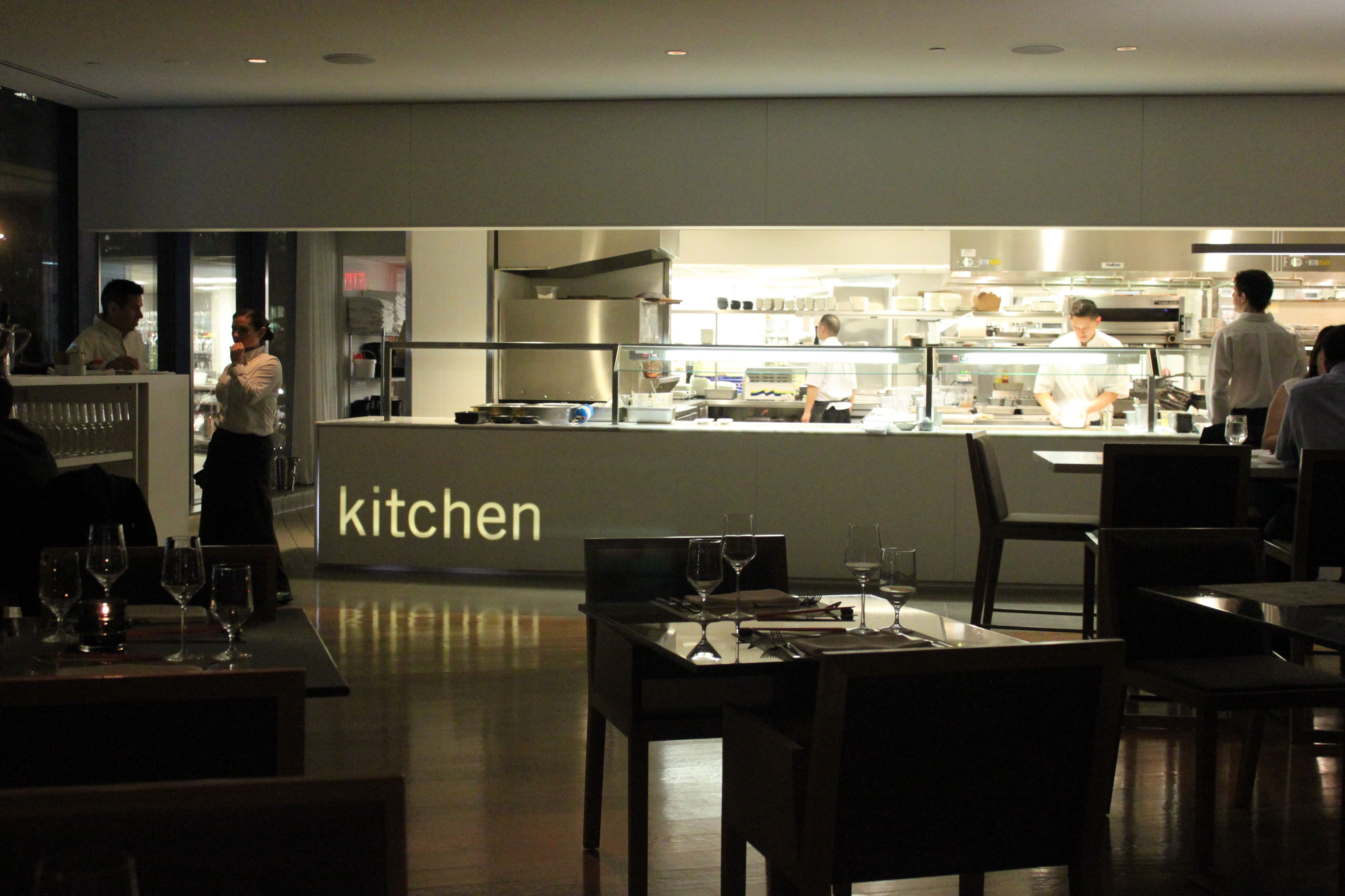 Euorpean restaurant design concept kitchen
