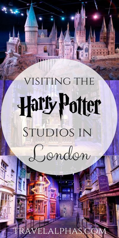 Your guide to visiting the Harry Potter Studios in London, England!