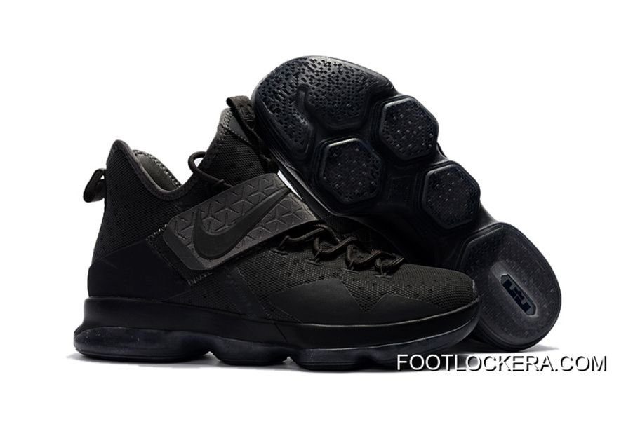 "9ef06b22862 Nike LeBron 14 ""Triple Black""Men s Size New Style in 2019"