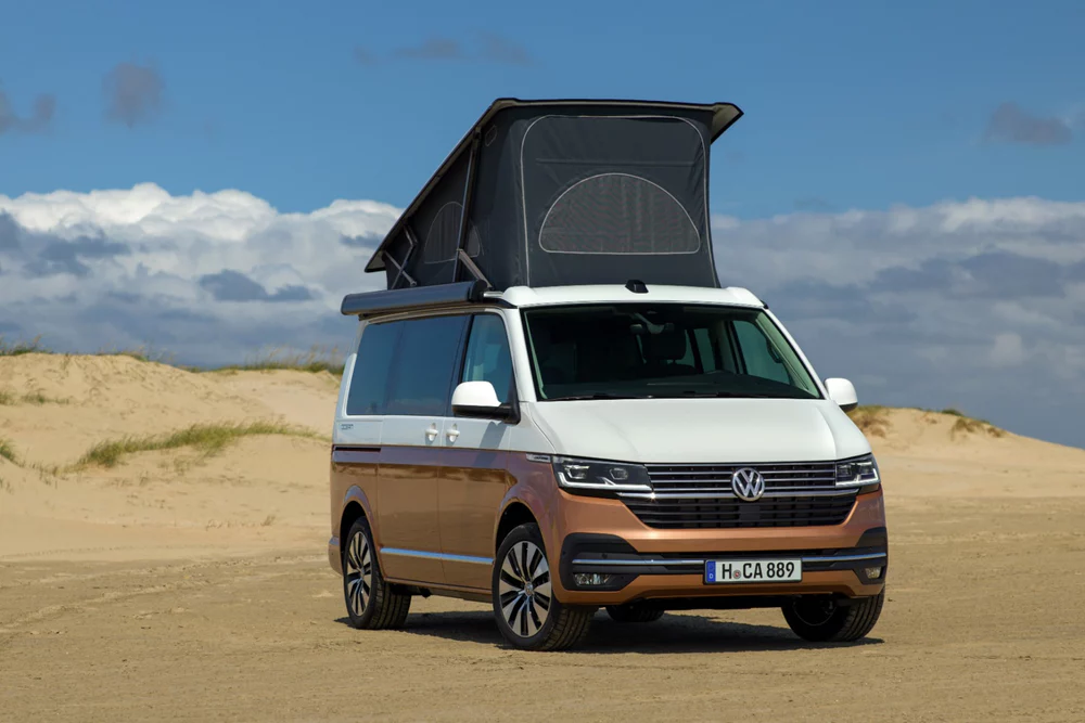 Reinvigorated Vw California Camper Van Puts More Tech And Comfort At Nomads Fingertips Vw California Camper Volkswagen Camper Vw Campervan