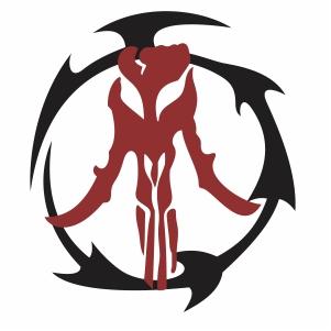 Boba Fett Mandalorian Star War Vector File Mandalorian Boba Fett Mandalorian Symbol