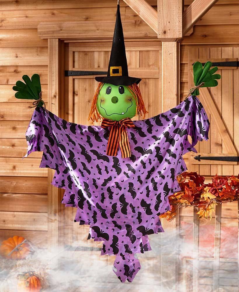 Hanging Halloween Witch Decoration Door Decor Yard Art