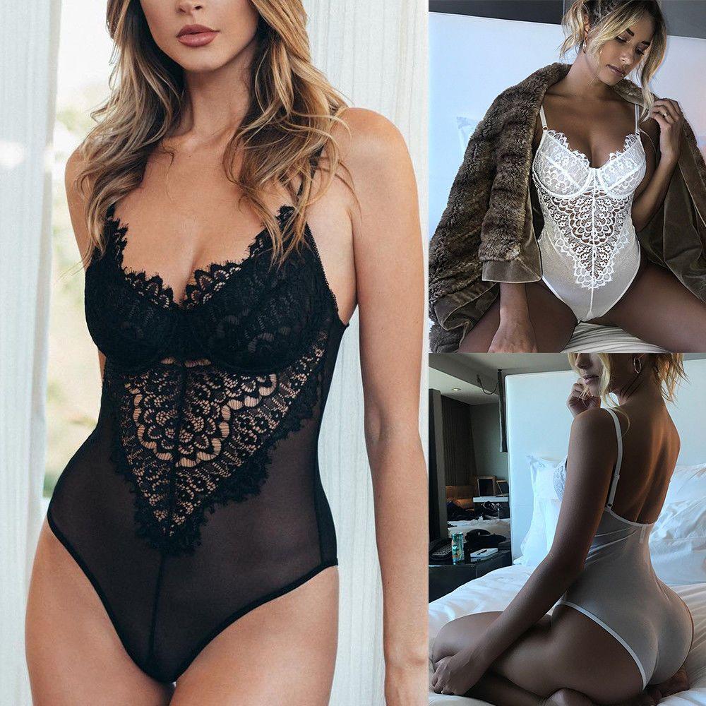 0cc0c7184384 5.98AUD - Women's Lingerie Corset Lace Underwire Racy Muslin Bodysuit  Temptation Underwear #ebay #Fashion