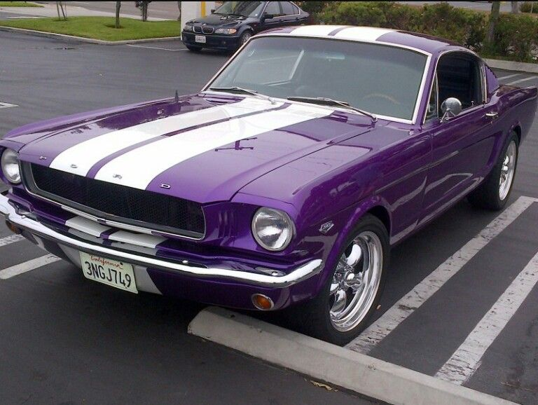 Pin By Theresa Edwards On Ford Car Fashion Purple Mustang Purple Car Purple