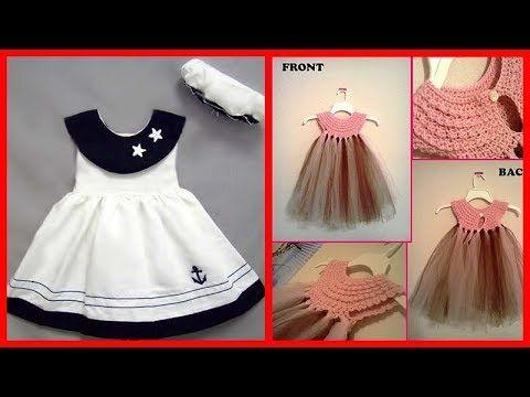 cb22b1dfc7 Daily wear cotton frock design ideas for babies/Little girl cute frock  design ideas/Kids dresses - YouTube