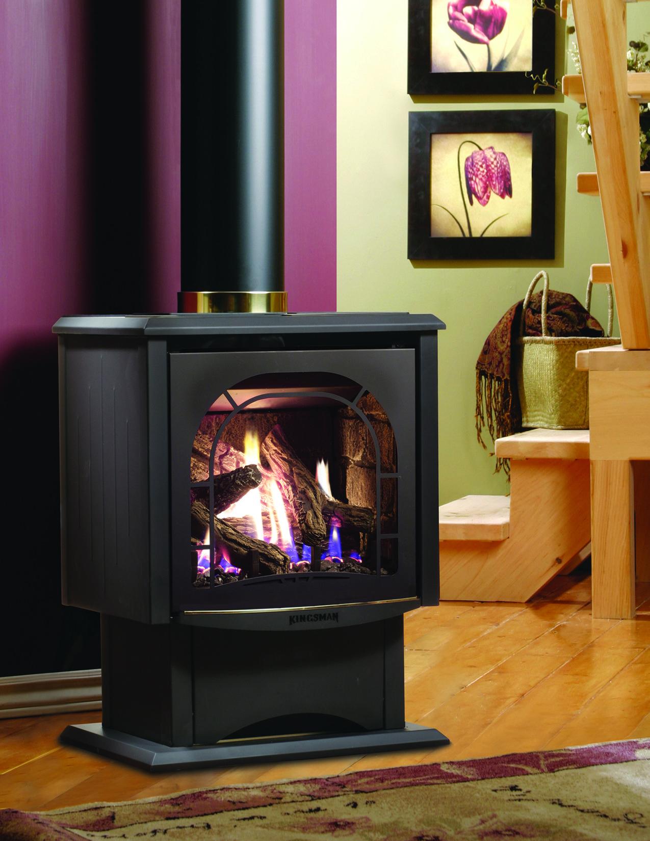 Kingsman Fireplace Wood Burning Fireplace Inserts Freestanding