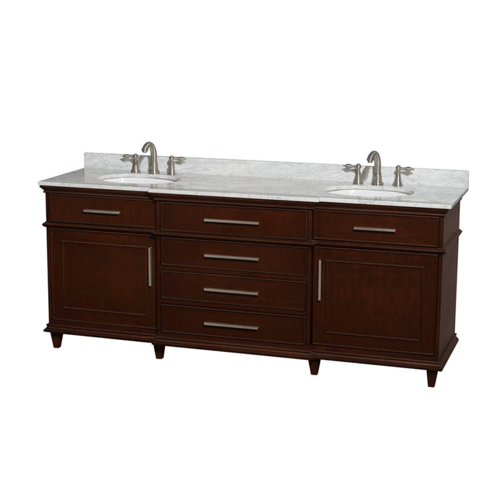 Wyndham Collection Wcv171780dcd Berkeley 80 In Double Bathroom