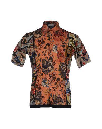 DRIES VAN NOTEN Shirt. #driesvannoten #cloth #top #pant #coat #jacket #short #beachwear