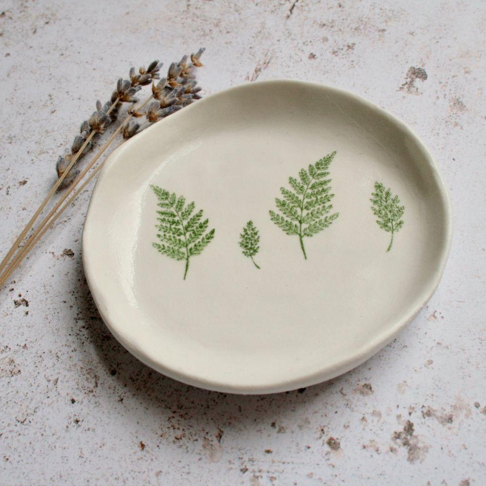 ceramic trinket dish   floral ceramic dish   decorella,.co.uk