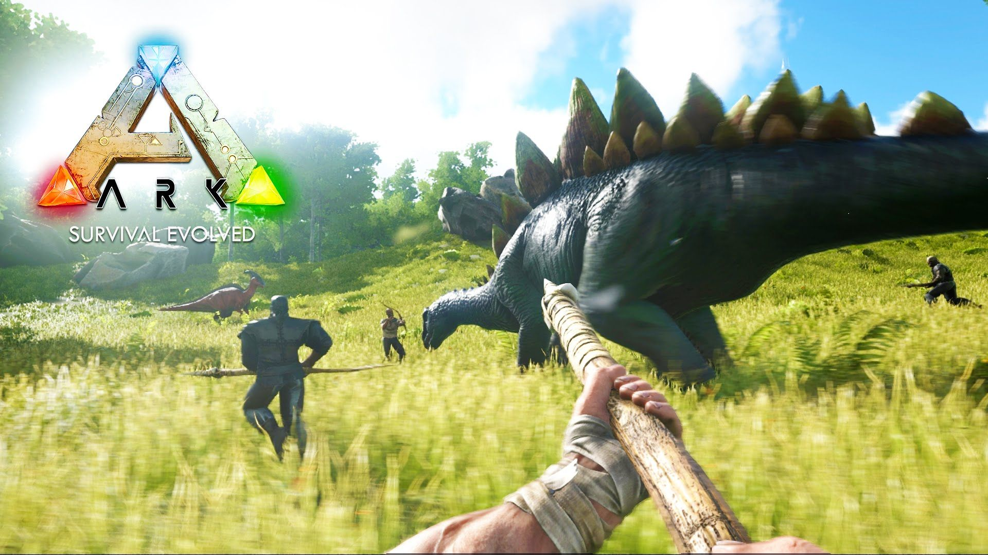 ARK: Survival Evolved - DINOSAUR FORTRESS CONSTRUCTION! (ARK: Survival Evolved Gameplay) | Game ark survival evolved, Ark survival evolved, Survival