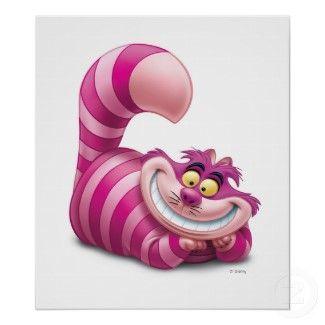CG Cheshire Cat Disney print