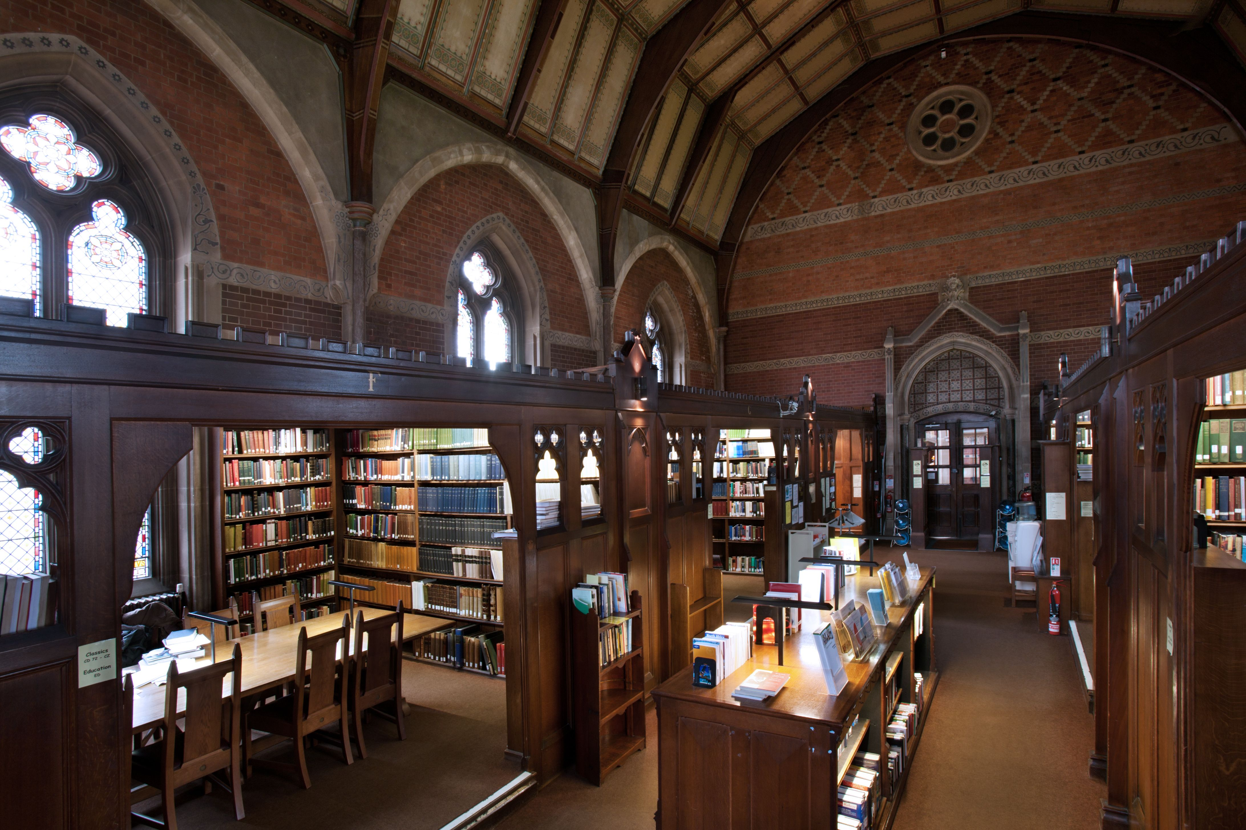 The Library at Keble College Oxford Keble College