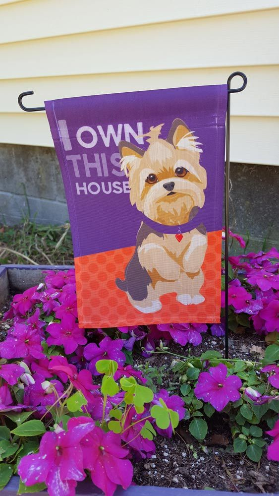 Etonnant Yorkshire Terrier Garden Flag Our Yorkie Garden Flags Will Bring A Bright  Splash Of Color To