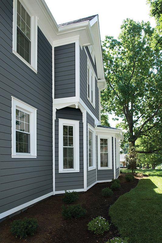 Home Siding Photo Gallery Window Trim Exterior House Exterior House Paint Exterior
