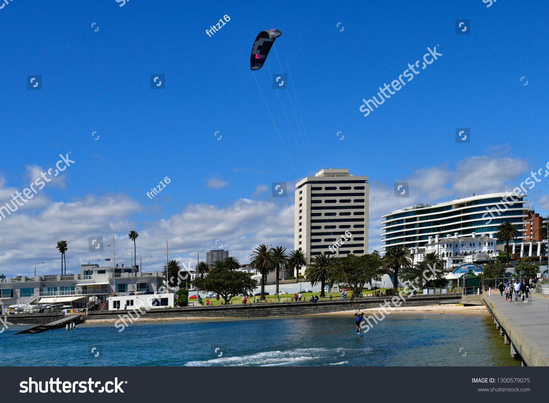 MELBOURNE, VIC, AUSTRALIA NOVEMBER 04 Unidentified kite