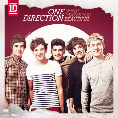One Direction What Makes You Beautiful Album Cover | QT ...