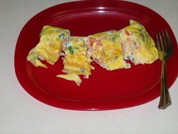 ziploc bag omelet eggs in a hurry