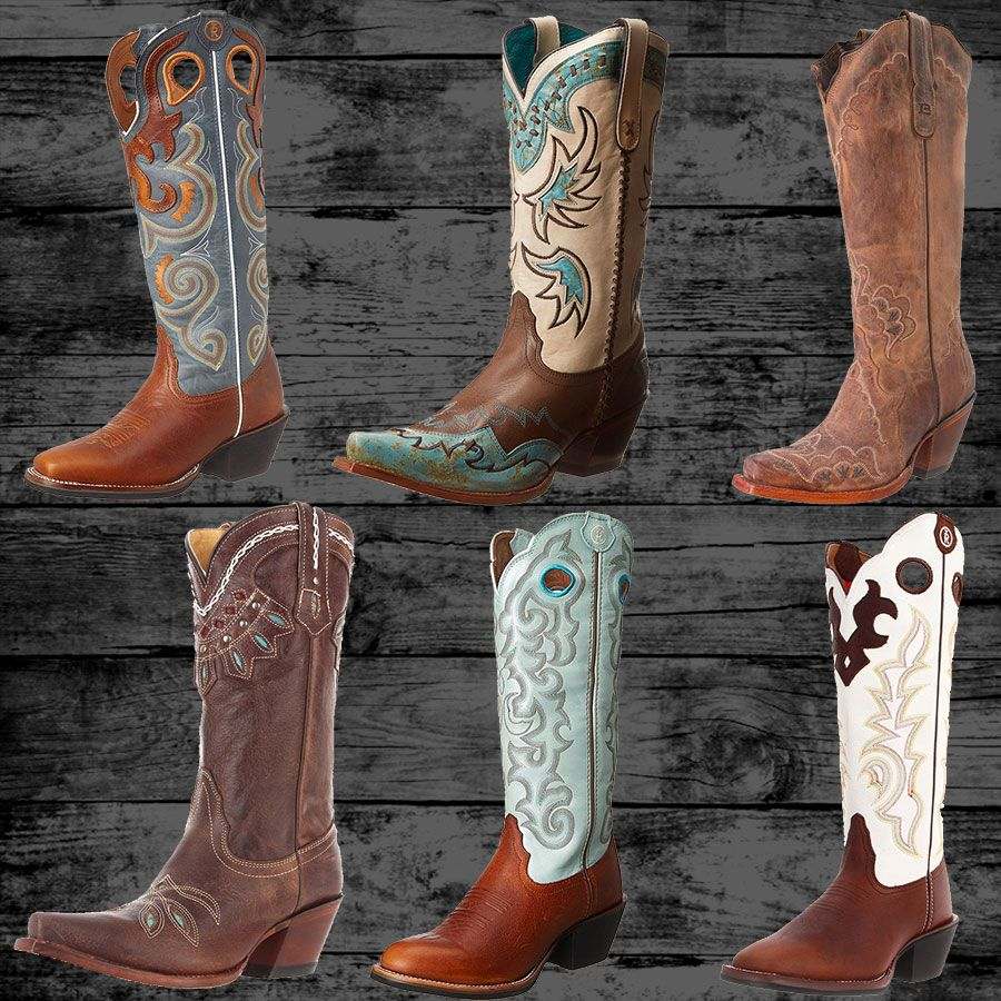 10 Tony Lama Western Boots - Real Country Ladies