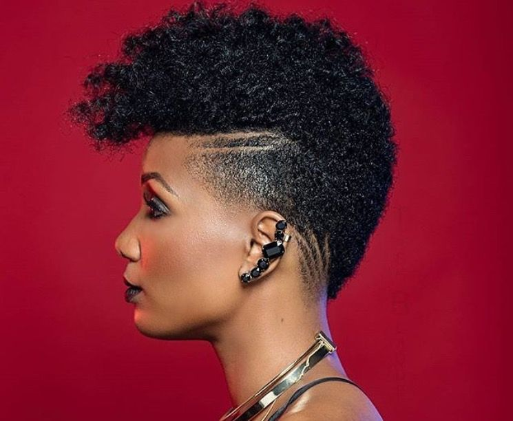 Amazing Tapered Haircut Black Women Natural Hairstyles