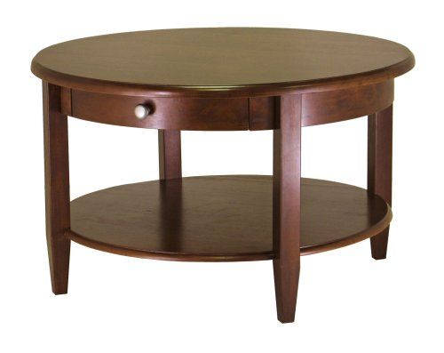 Winsome Wood Concord Round Coffee Table Best Dining Room