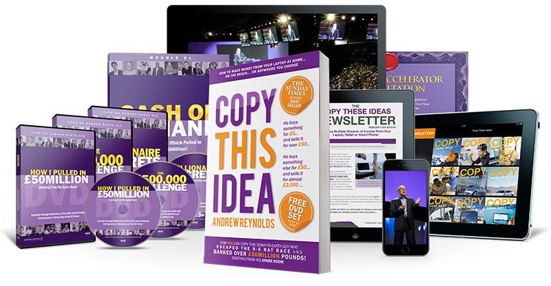 copy this idea  Claim your FREE #1 best selling book and DVD set on how to work from home, just copy this idea right?