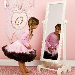 Scalloped Floor Mirror | Kid\'s Room | Pinterest | Floor mirror, Kids ...