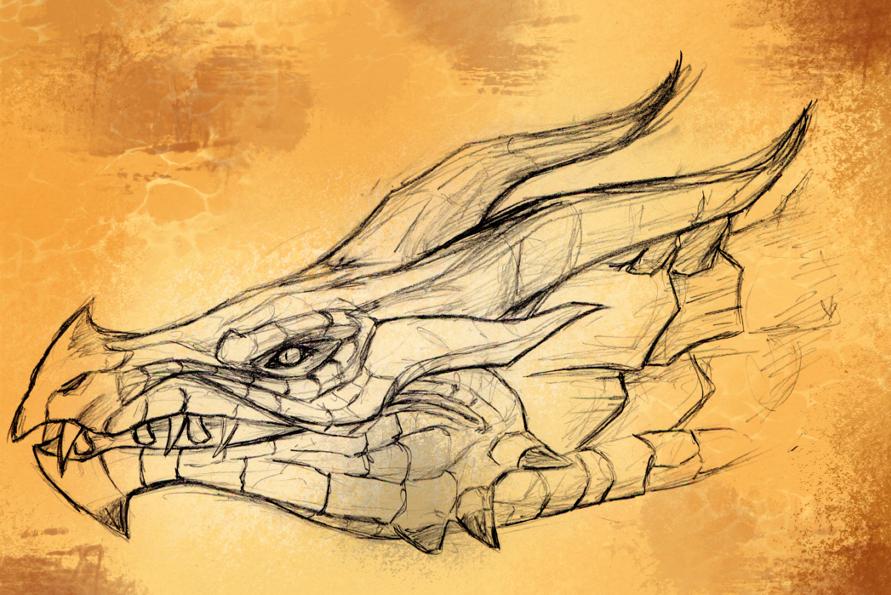 Skyrim Dragon by LuxuryCat.deviantart.com on @deviantART ...