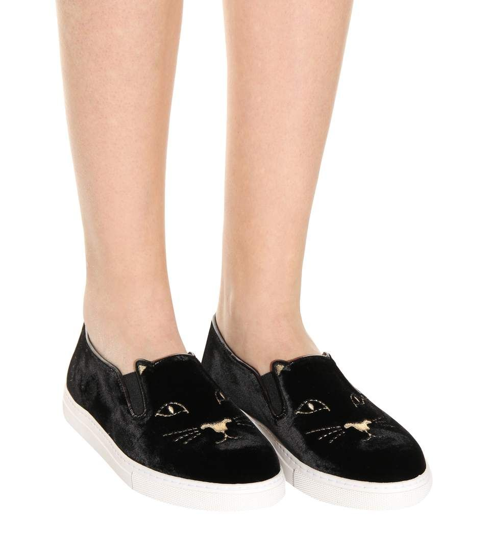 Cool Cats sneakers - Black Charlotte Olympia Discount Best Clearance Release Dates Discount Cheap Price Discount Free Shipping Pay With Paypal Cheap Price idrs5QyiN2