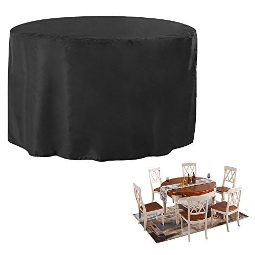 Garden Furniture Covers Round Jtdeal table cover oxford polyester circular garden furniture cover jtdeal table cover oxford polyester circular garden furniture cover waterproof patio furniture table covers round outdoor covers for tables chairs furniture workwithnaturefo