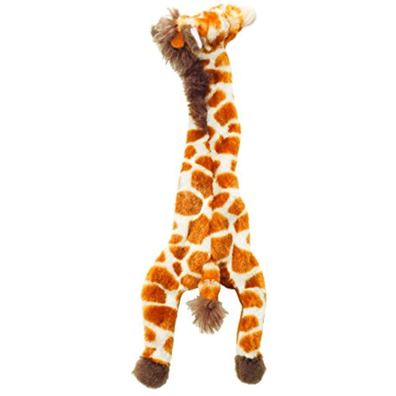 Ethical 5706 Skinneeez Giraffe Stuffing Less Dog Toy 14 Inch