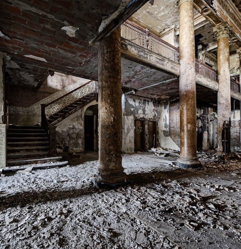 UE Hotel's abandoned but beautiful crumbling ruins