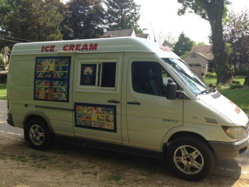 2004 Cdi Diesel Dodge Sprinter Van Raised High Top Ice Cream Truck