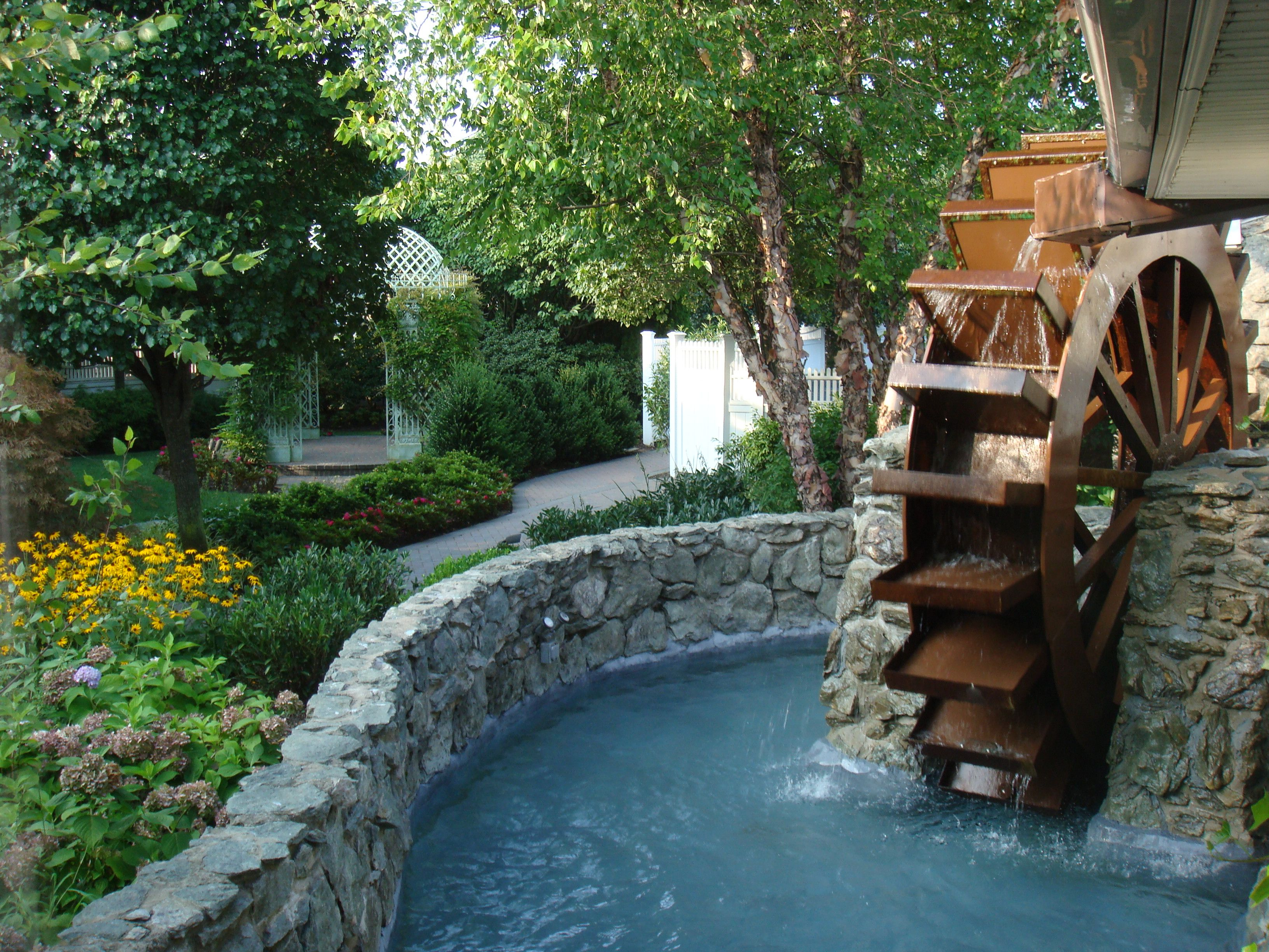 Iconic Watermill churns water day & night | Watermill ...