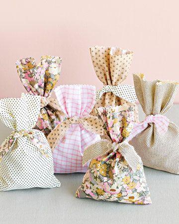 Saquitos de tela para regalos favor pouches vintage - Saquitos de tela ...
