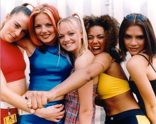 Spice Girls <3. That's right. I said SPICE GIRLS. (Don't you dare judge me!)