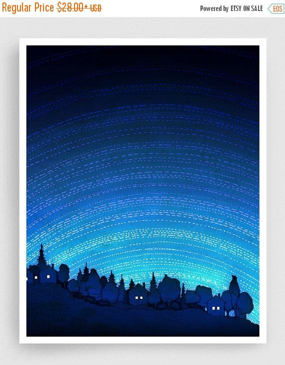 30% OFF SALE: Earth calling vertical  Nature Art Home by tubidu