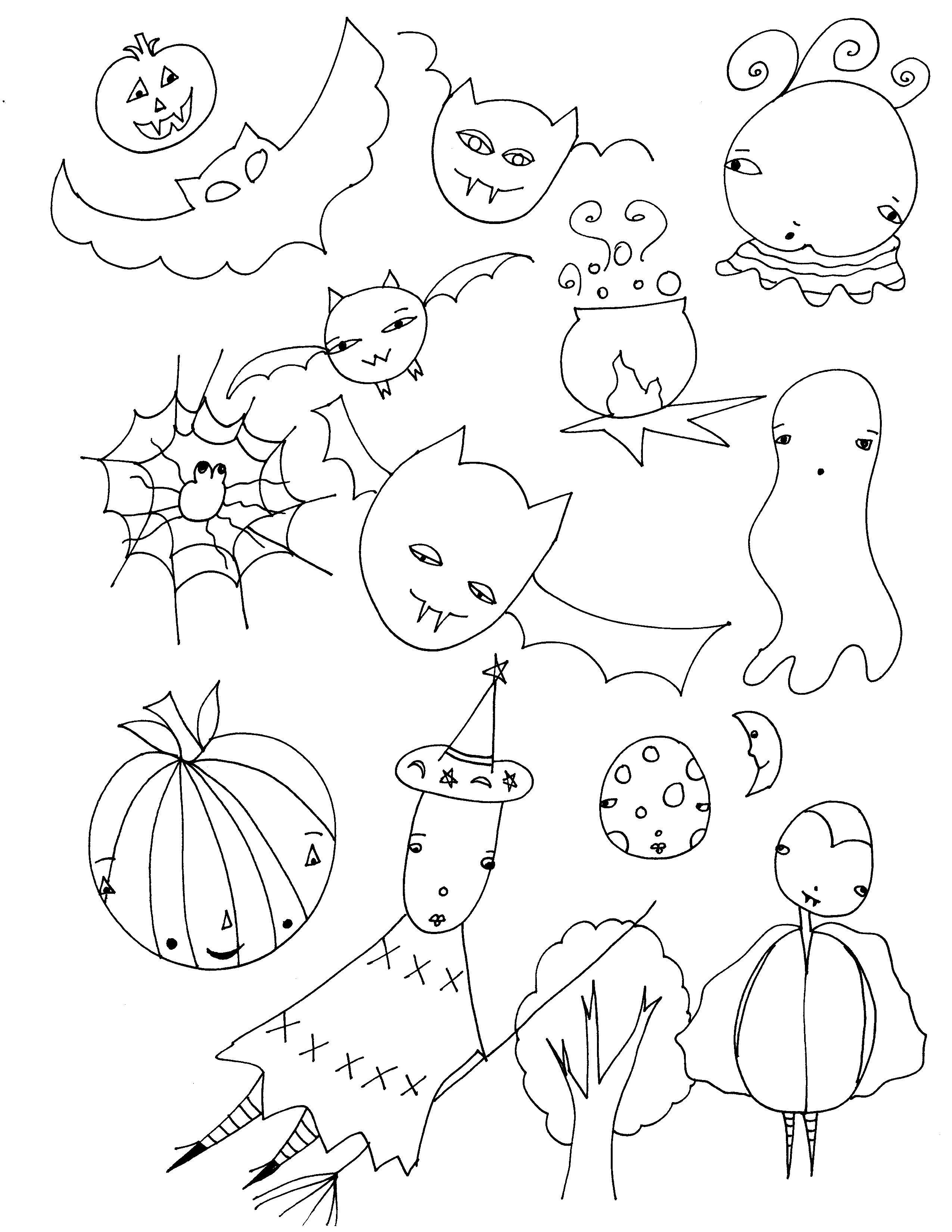 Halloween Printables Free Ghosts Ghouls Goblins