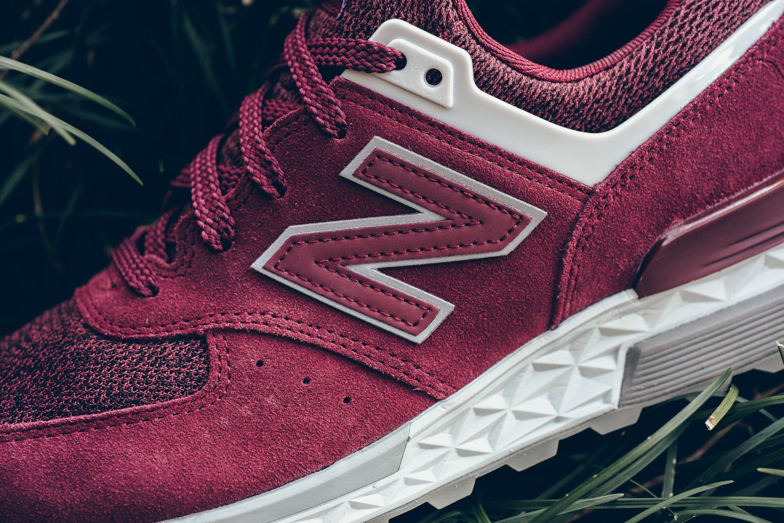 the best attitude 4d051 fbcca New Balance MS574CE - Burgundy