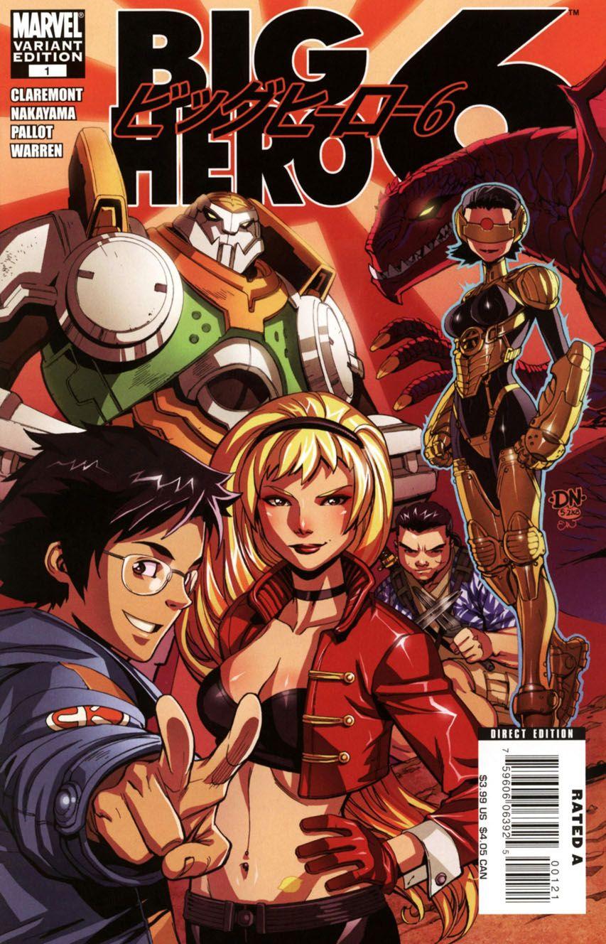 Big Hero Comic disney to animate marvel's 'big hero 6' | big hero 6 comic