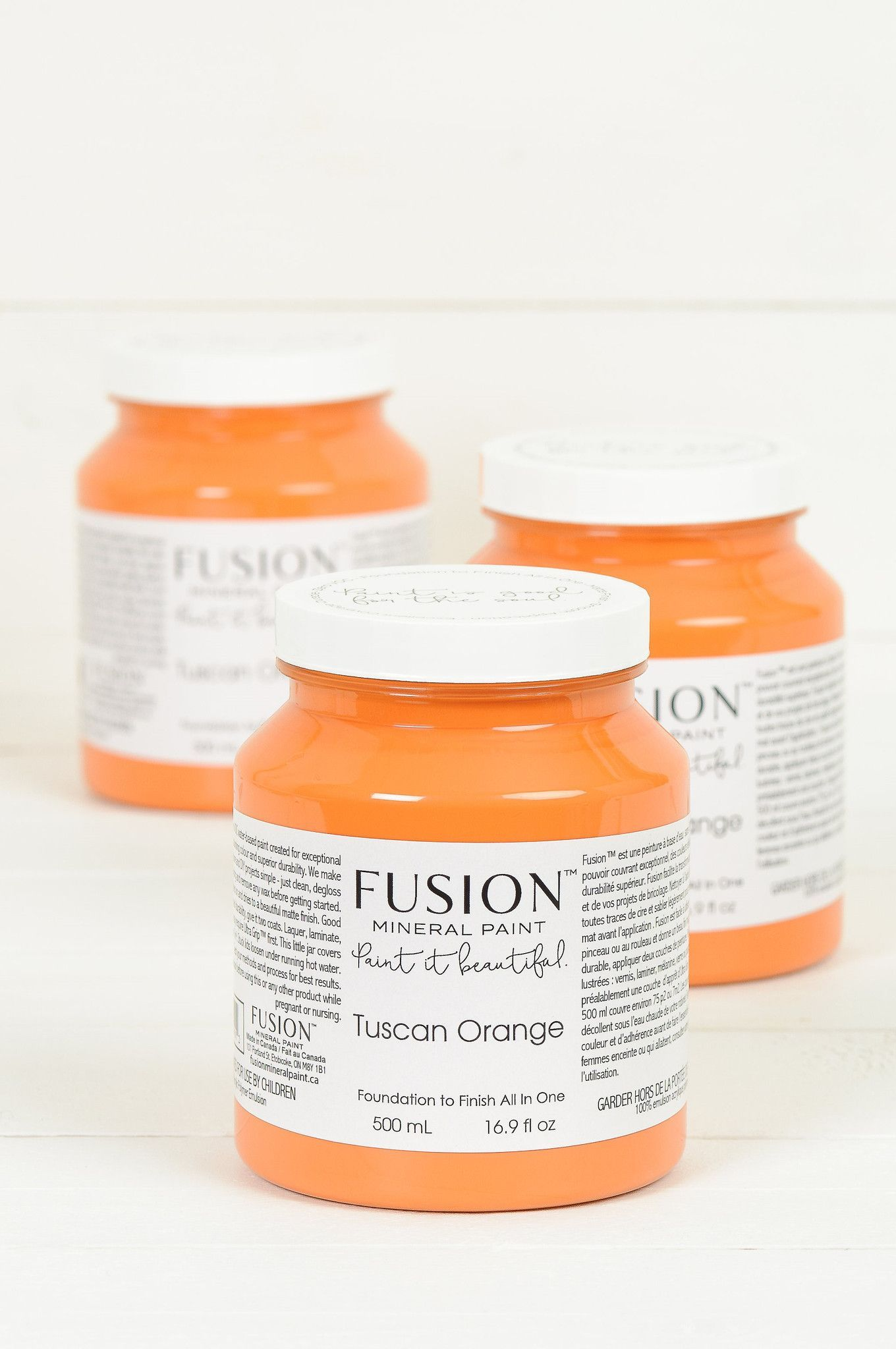 Tuscan Orange Fusion Mineral Paint 500ml Pint