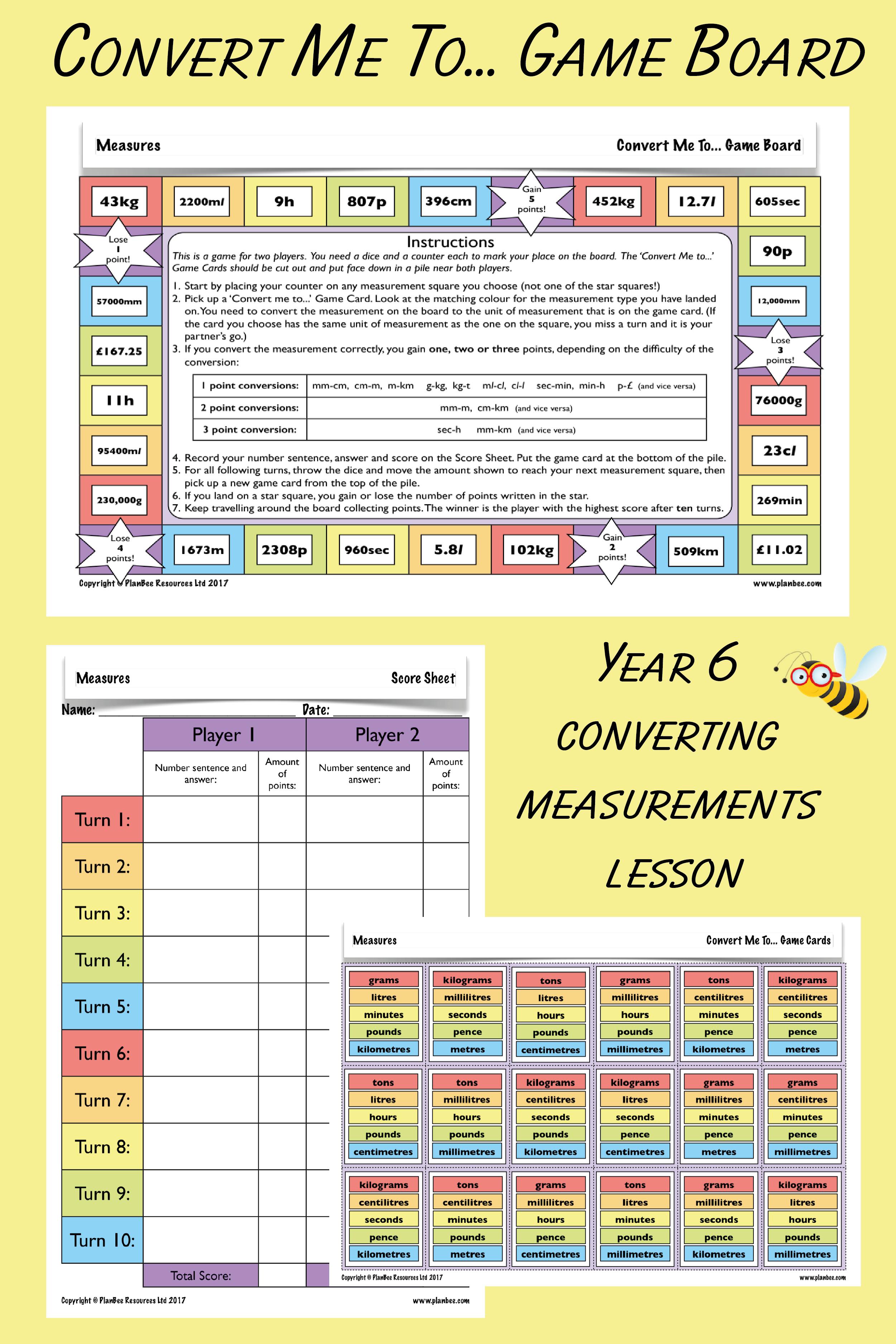 Measures Converting Measures