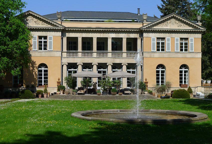 Villa Harteneck, Berlin, which doubles as the interior