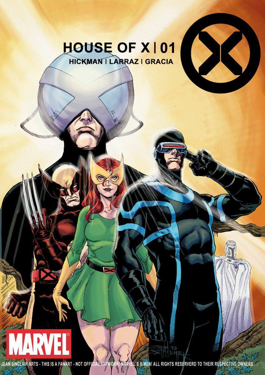 House Of X Art By Jean Sinclair Marvel Comics Art Marvel Comic Character Comic Books Art