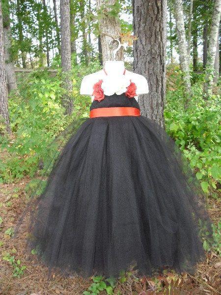 Halloween costume  Black elegant tutu dress  Formal by BelAmour28 ... 8c6789a02cf1