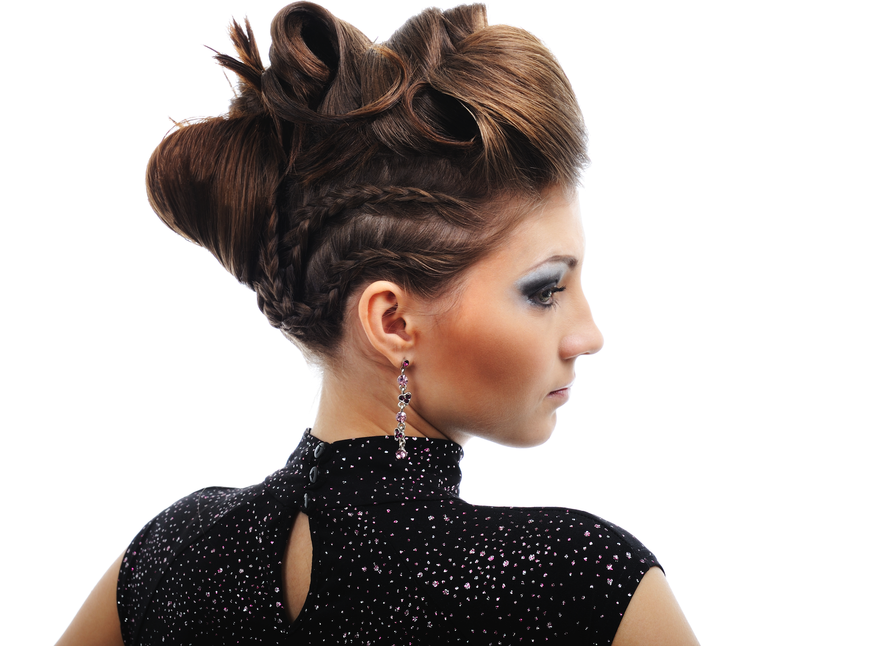 Bump It Up Add This Cool Hairdo With A Retro Vibe To Update Or