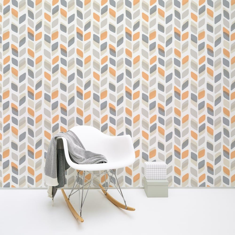 Galerie Wallcoverings Galerie Unplugged Abstract Leaf