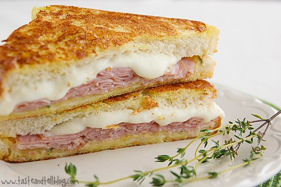 Italian-Style Monte Cristos {Saturdays with Rachael Ray} - Taste and Tell