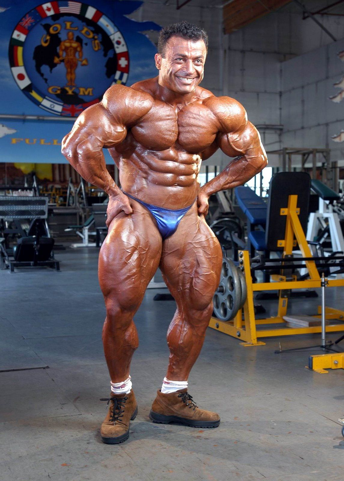 Mustafa Mohammad. | Bodybuilders At The Gym | Pinterest ...