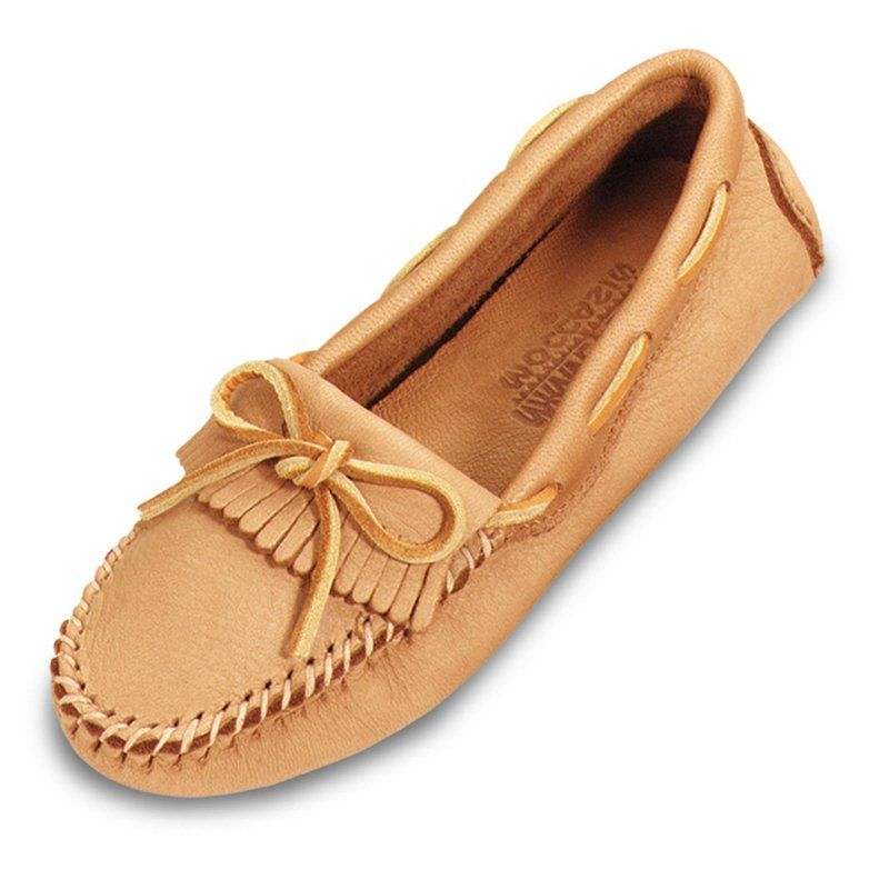Minnetonka Womens Moosehide Driving Moccasins - What We Like About These  Moccasin Slippers The Genuine Moose Skin Driving Moccasins offer  versatility and ...